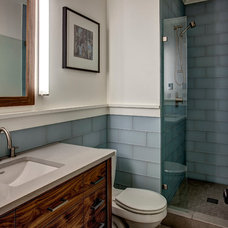 Craftsman Bathroom by Board and Vellum