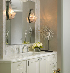 contemporary bathroom by Cindy Ray Interiors, Inc.