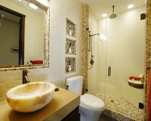 vertical subway tile houzz. Black Bedroom Furniture Sets. Home Design Ideas