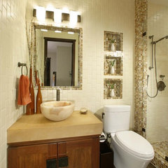 contemporary bathroom by Debbie R. Gualco