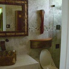 Eclectic Bathroom Guest Bathroom