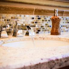 Mediterranean Bathroom by Interior Designs San Diego