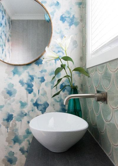 Eclectic Bathroom by Jackie Jones Interior Design