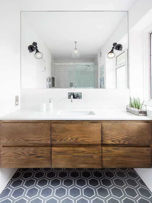 Midcentury Bathroom Design Ideas Renovations Photos