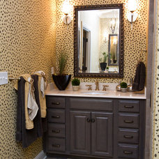 Traditional Bathroom by Leslie Lewis & Associates