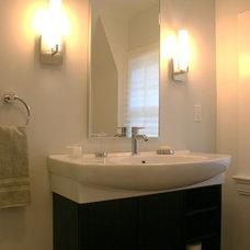 Modern Bathroom by LJL Design llc