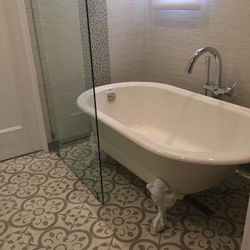 Guest Bathroom, Mediterranean-style Home, Southern California