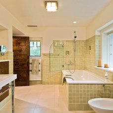 Contemporary Bathroom by Nautilus Architects LLC