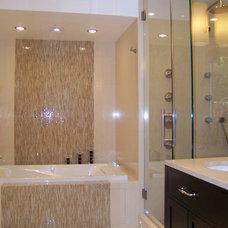Contemporary Bathroom by Nina sobiNina Design