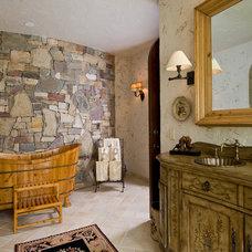 Mediterranean Bathroom by Nor-Son, Inc.
