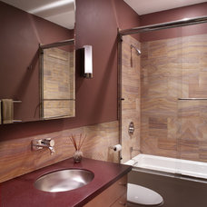 Modern Bathroom by Patricia B. Warren, AIA   Warren Architecture, LLC