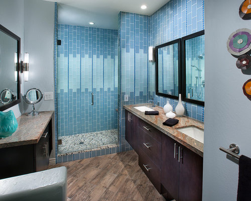 Galley style bathroom ideas pictures remodel and decor for Galley style bathroom