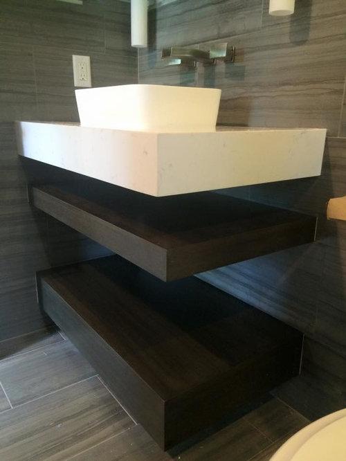 Modern Contemporary Bathroom Renovation, Addison Reserve, Boca Raton, FL
