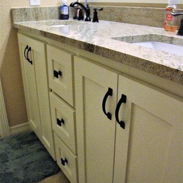 Guest Bathroom Remodel - Crowley