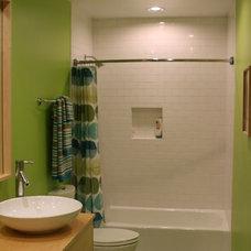 Contemporary Bathroom Guest Bathroom Remodel