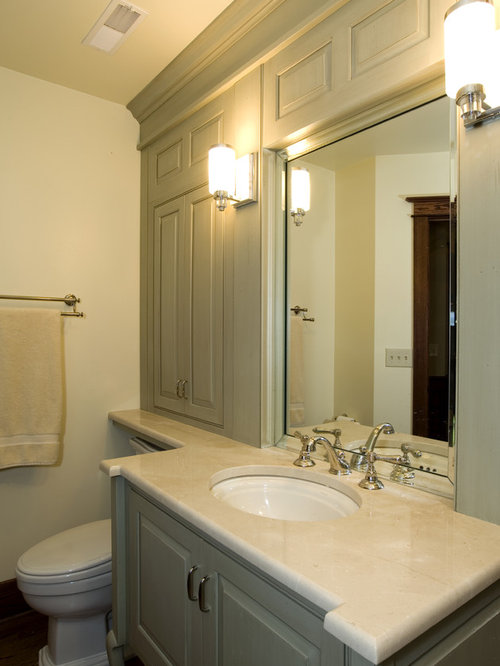 Storage over toilet ideas pictures remodel and decor - Guest bathroom remodel designs ...