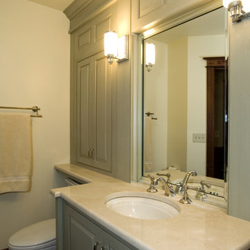 Guest Bathroom Remodel with Custom Cabinetry
