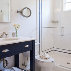 Eclectic Bathroom by Ruth Richards, Allied ASID