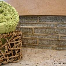 Tropical Bathroom by Fiorito Interior Design