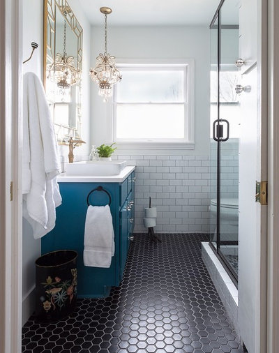Ideal Traditional Bathroom by Stacy Paulson Design