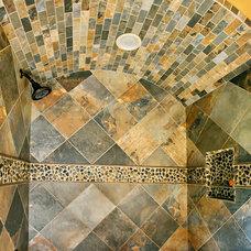 Mediterranean Bathroom by Terry M. Elston, Builder