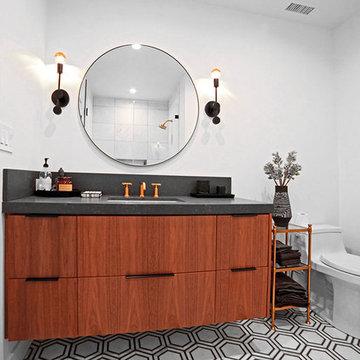 Guest Bathroom Vanity   Complete Remodel   Sherman Oaks