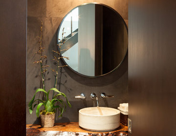 Guest Bathroom, with High Styling