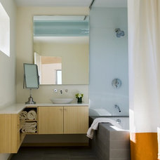 Modern Bathroom by ZeroEnergy Design