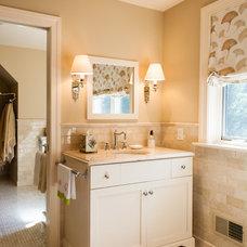 Traditional Bathroom by LAD Interior Design