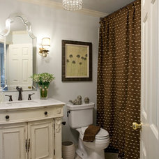 Eclectic Bathroom by Red Leaf Interiors, LLC