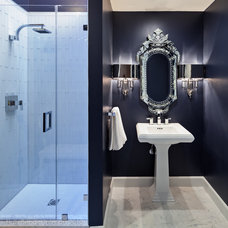 Transitional Bathroom by Holly Bender Interiors