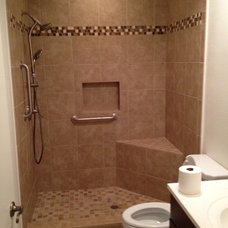 Contemporary Bathroom by Palatin Remodeling