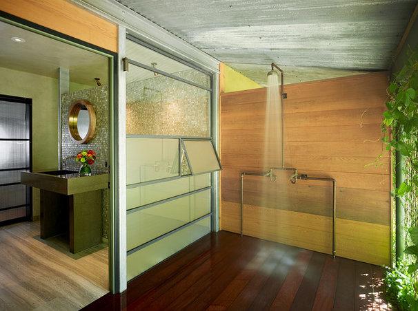 Industrial Bathroom by Poor House Interior Design