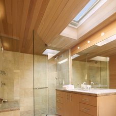 Beach Style Bathroom by Bromley Caldari Architects PC