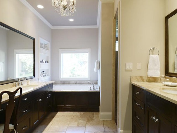 Traditional Bathroom by Guido Custom Homes, Inc (Laurie Guido)