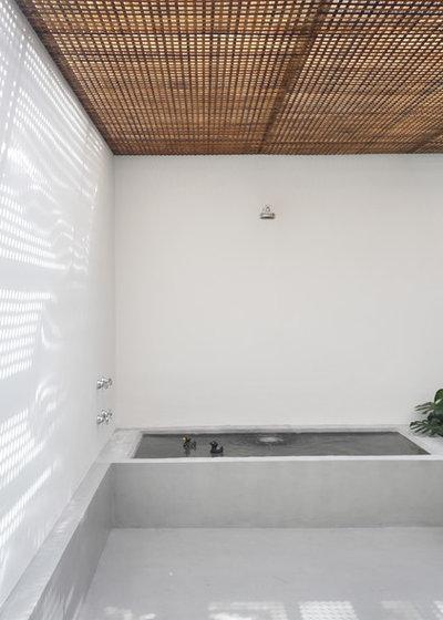 Visite priv e une maison bo te minimaliste et moderne - La maison ah au bresil par le studio guilherme torres ...
