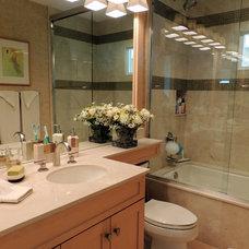 Tropical Bathroom by Dynan Construction Management