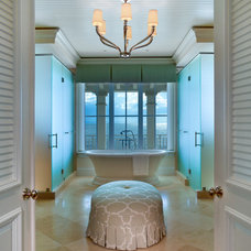 Tropical Bathroom by Stofft Cooney Architects