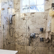 Traditional Bathroom by Mina Brinkey