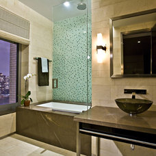 Contemporary Bathroom by Gustavson Dundes