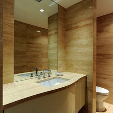 Contemporary Bathroom by Kitchen and Bath Studios Inc