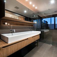 Contemporary Bathroom by Residential Attitudes