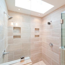 Contemporary Bathroom by Inspired Remodeling & Tile by Peter Bales