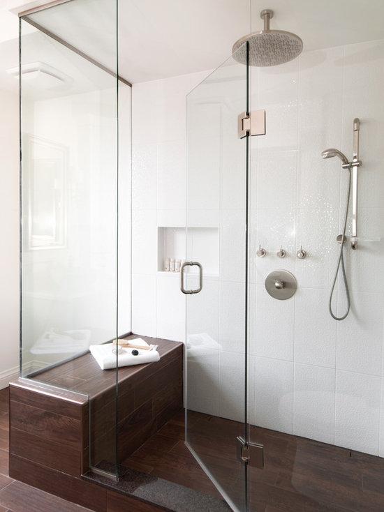 Bathroom Tiles Wooden Floor wood tiles bathroom | houzz