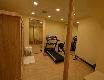 Gym and Sauna in the basement. Laurel, MD