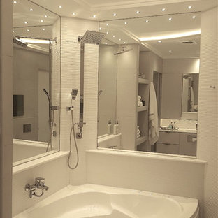 Gypsum Bathroom Ideas & Photos | Houzz on black and white bathroom shower curtains, houzz home design, houzz shower tile design, bathroom shower curtains and window curtains, contemporary bathroom shower curtains, rustic bathroom shower curtains,