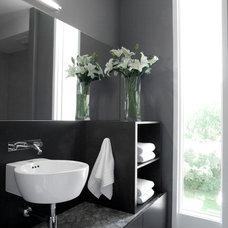 Modern Bathroom by Davignon Martin Architecture