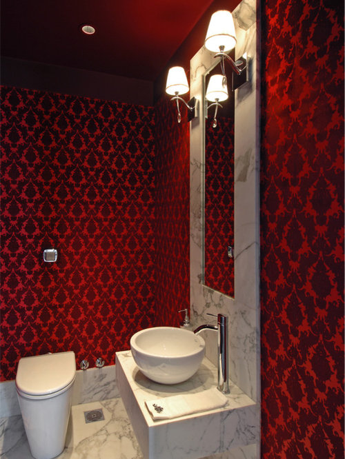 Red And Black Bathroom Home Design Ideas Pictures Remodel And Decor