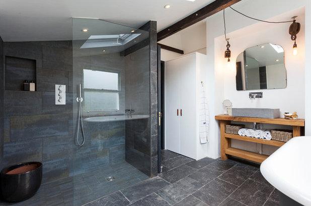 Scandinavian Bathroom by Chris Snook