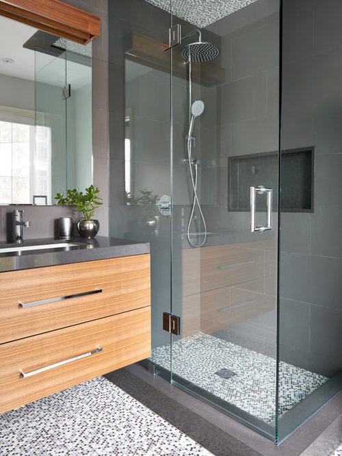 Small bathroom design ideas remodels photos for Small bath design gallery